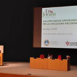 Prof. Matteo Gatti presenta Ervi, un incrocio nato a Piacenza da Barbera e Croatina